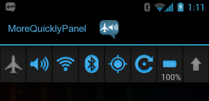 android quick panel